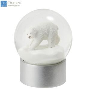 【送料無料】茶谷産業 Snow Globe スノードーム シロクマ 720-014(北海道・沖縄・離島は別料金)|fullcolor-print