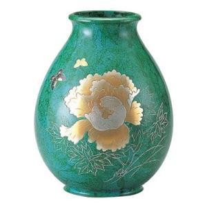 伝統工芸師が作る重厚感あるブロンズ製花瓶。玄関・居間・和室などを華やかに演出してくれます。