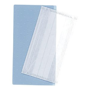 抗菌マスクケース(マスクなし) 3210 A/ブルー 名入れできます(別料金)