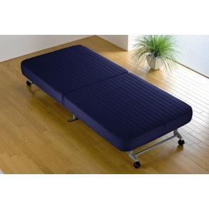 【送料無料】折りたたみベッド◆収納ベッド簡易◆完成品 NB(B579)|fullfullshp