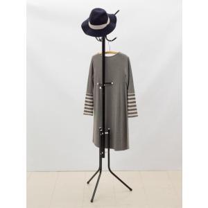 【送料無料】コートハンガースチール ポールハンガー 帽子掛け  組立て家具 KD1015 fullfullshp