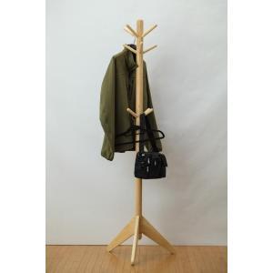 【送料無料】コートハンガーNA◆ポールハンガー◆帽子掛け  組立て家具 fullfullshp