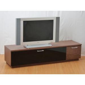 【送料無料】150巾テレビボード◆ローボード ◆リビングボード ブラウン 組立家具 fullfullshp