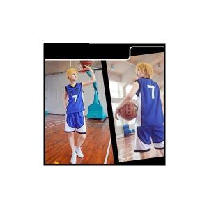 オーダーメイド 黒子のバスケ コスプレ衣装 海常高校ユニフォーム 黄瀬涼太 コスプレ衣装aw027f0|fullgrace
