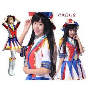 指原莉乃 コスプレ衣装 AKB48 風 恋するフォーチュンクッキー  コスプレ衣装 指原莉乃 コスプレ衣装|fullgrace