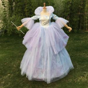 シンデレラ ェアリーゴッドマザー Cinderella Fairy Godmother wig追加可  ディズニー プリンセス シンデレラ コスプレウィッグ追加可 コスプレ衣装cc233f0f0q1 fullgrace