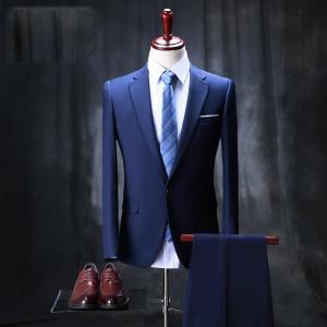 スタイリッシュスーツ スーツ メンズ スリム 1ツボタン 2ツボタン 紳士服 suit メンズ スリムスーツ ビジネススーツ メンズ スーツ メンズ 結婚式|fullgrace