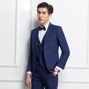 suit スリムスーツ ベスト付き ビジネススーツ メンズ スーツ 3点セットスーツ メンズ スリム メンズ スタイリッシュスーツ 紳士服 メンズ|fullgrace
