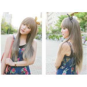 Cosplay ウィッグ 65cm 原宿風 wig プリンセス 巻 lolita cosplay ロング ふんわりとしたウェーブ ウイッグ wig ロング ネット付dp007s1s1x0|fullgrace