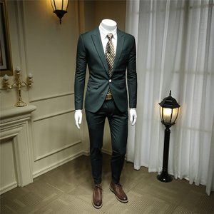 スーツ メンズ ビジネススーツ スリーピーススーツ 2ピーススーツ 春 秋 アップ ビリジャンセット セットアップ 細身 紳士服 結婚式|fullgrace