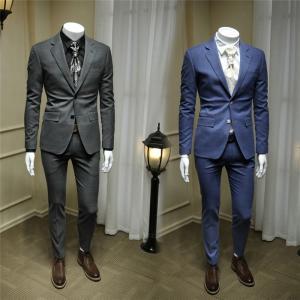 スーツ メンズ ビジネススーツ スリーピーススーツ 2ピーススーツ 春 秋 ダークグレー ブルー アップセット セットアップ 細身 紳士服|fullgrace