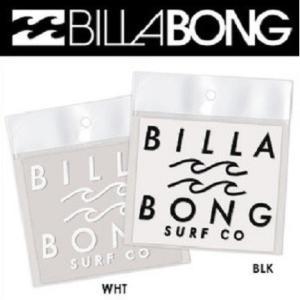 ビラボン BILLABONG SURF CO ロゴカッティングステッカー B00S18