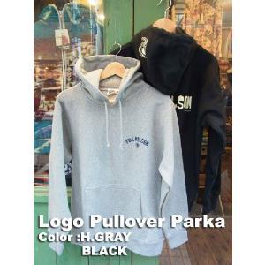 FULLNELSON LOGO PULL PARKAフルネルソン オリジナル ロゴプルパーカー|fullnelsonhalf
