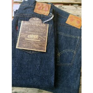 フルカウントデニムFULLCOUNT 0105 1953 MODEL(RIGID&ONEWASH ) INDIGO BLUE|fullnelsonhalf