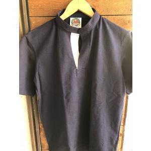 BARBARIAN 半袖ヘンリーネックラガーシャツ|fullnelsonhalf