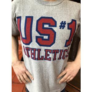 BUDDY別注 Champion リバースウィーブTシャツ US #1 ATHLETICS|fullnelsonhalf