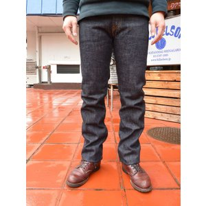 フルカウント デニムFULLCOUNT  1108xx Heavy OZ STRAIGHT LEGS (ONEWASH ) INDIGO BLUE|fullnelsonhalf