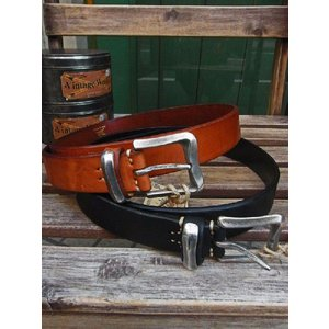VINTAGE WORKS LEATHER BELT ビンテージワークス レザーベルト DH5675|fullnelsonhalf