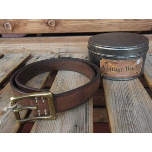 VINTAGE WORKS LEATHER BELT ビンテージワークス レザーベルト DH5679|fullnelsonhalf