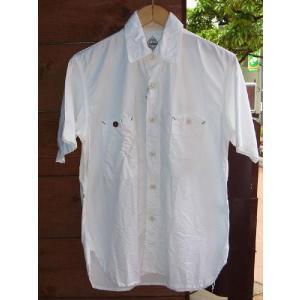 エフオービーファクトリーH/SオックスフォードワークシャツF.O.B FACTORY WHITE|fullnelsonhalf