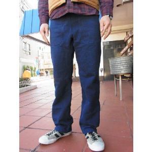 グッドオン インディゴヘビースウェットパンツGood-on INDIGO HEAVY SWEAT PANTS|fullnelsonhalf