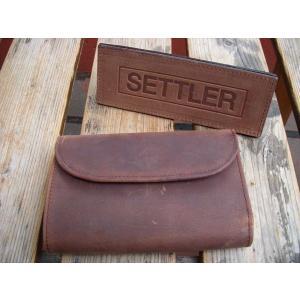 SETTLER セトラー 三つ折りウォレット 3FOLD PURSE|fullnelsonhalf