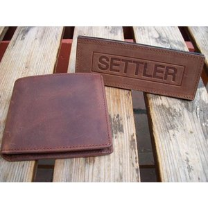 SETTLER セトラー 二つ折りウォレット WALLET with COINCASE OW1563|fullnelsonhalf