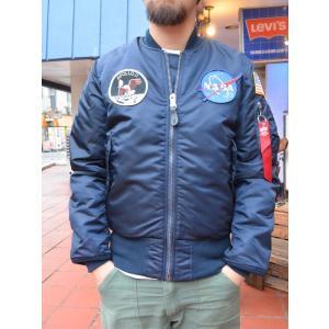 ALPHA MA-1 JAPAN SPEC NASA APOLLO タイトフィットモデル アポロモデル|fullnelsonhalf