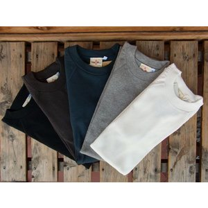 Two Moon raglan sleeve rib stitch T-SHIRTS トゥームーン ラグラン・スリーブ リブTシャツ 93034|fullnelsonhalf