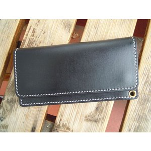 FULLNELSON ORIGINAL TRUCKERS WALLET BLACK|fullnelsonhalf