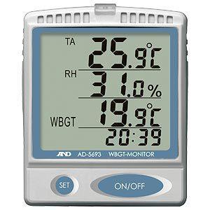 熱中症指数モニター AD-5693 fumiyas