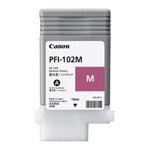 キヤノン iPF用インクタンク PFI-102M(染料マゼンタ)|fumiyas