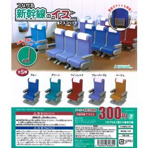 つながる新幹線のイスマスコット