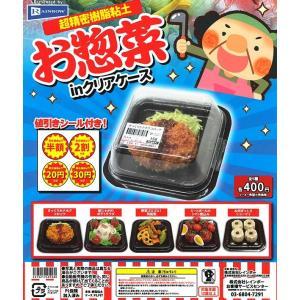 超精密樹脂粘土 お惣菜in クリアケース