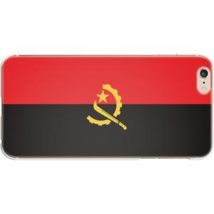 スマホケース 国旗 アンゴラ スマホカバー  (iPhone6 Plus-6s Plus用)(ノーマルカラー) (ネコポス可)|fun-create