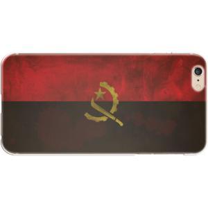 スマホケース 国旗 アンゴラ スマホカバー  (iPhone6-6s-7-8用)(ビンテージ) (ネコポス可)|fun-create