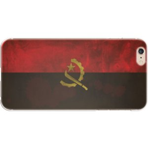 スマホケース 国旗 アンゴラ スマホカバー  (iPhone6 Plus-6s Plus用)(ビンテージ) (ネコポス可)|fun-create