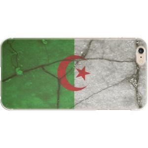 スマホケース 国旗 アルジェリア スマホカバー  (iPhone6-6s-7-8用)(レトロクラック) (ネコポス可)|fun-create