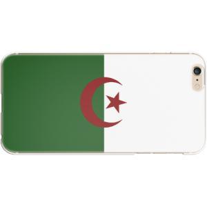 スマホケース 国旗 アルジェリア スマホカバー  (iPhone6-6s-7-8用)(ダークカラー) (ネコポス可)|fun-create