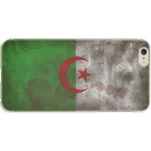 スマホケース 国旗 アルジェリア スマホカバー  (iPhone6-6s-7-8用)(ビンテージ) (ネコポス可)|fun-create