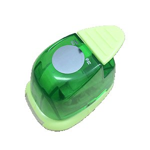 クラフトパンチ(25mm 丸型) 手作り 写真 ストラップ 作成に便利!手作り プレゼント 記念品 材料|fun-create