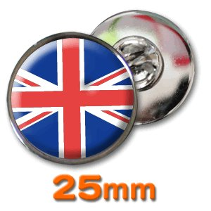 (ネコポス可) ピンズ(世界の国旗)25mm 1〜60|fun-create