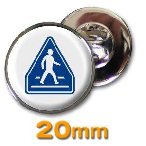 (ネコポス可) ピンズ(道路標識)20mm|fun-create