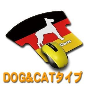(ネコポス可) マウスパッド(ペットDOG&CAT)ユニフォームタイプ|fun-create