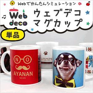 Web deco 【 マグカップ 】 単品 名入れ オーダーメイド プリント 写真 ペット 記念品 記念ギフト プレゼント 父の日|fun-create