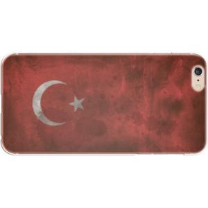 スマホケース 国旗 トルコ スマホカバー  (iPhone6-6s-7-8用)(ビンテージ) (ネコポス可)|fun-create