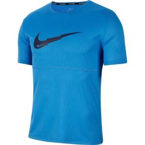 ナイキ Tシャツ メンズ ブリーズ ラン ウィンドランナー プルオーバー G S/S トップス 半袖...
