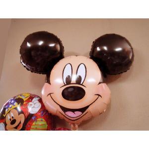 ディズニーミッキーマウス3個セット 補充用ヘリウム付|funari|02