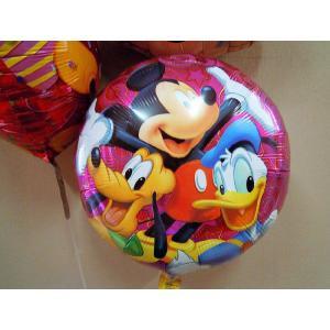 ディズニーミッキーマウス3個セット 補充用ヘリウム付|funari|04