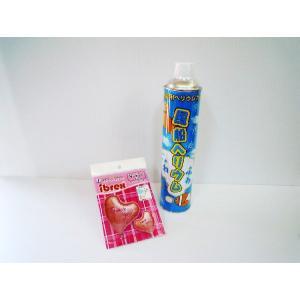 簡単バルーン アルミ風船・ヘリウム缶セット THANK YOU RPスウィートハート型|funari